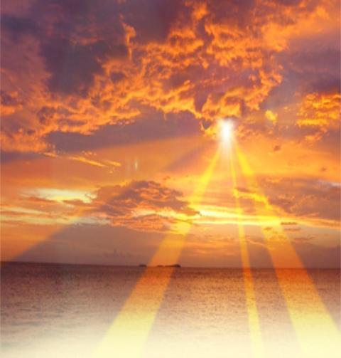 orange joy meditation 11:11 Life Styling