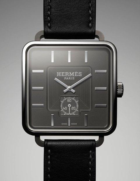 hermes titanium carre h watch / 11:11 lifestyling blog